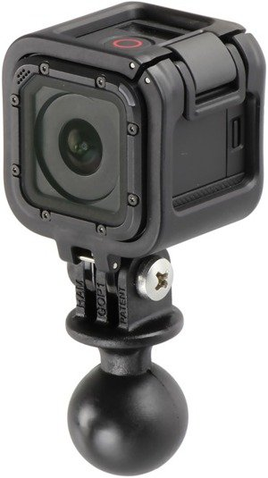 RAM Mount adapter do kamer GoPro HERO4 SESSION z 1 calową głowicą obrotową