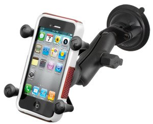 RAM Mount uchwyt do Apple iPhone 7, iPhone 8 & iPhone Xs X-Grip™ montowany do szyby