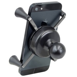 Uchwyt do Apple iPhone X z klamrą zaciskową RAM Tough-Clamp™.