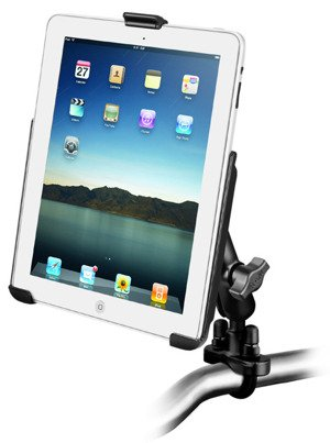 Uchwyt montowany do ramy kierownicy do Apple iPad 2, Apple iPad 3 & Apple iPad 4 bez futerału