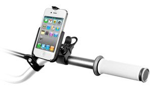 Uchwyt rowerowy RAM EZ-Strap™ do Apple iPhone 4 & Apple iPhone 4S bez futerału