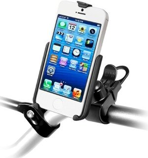Uchwyt rowerowy RAM EZ-Strap™ do Apple iPhone 5 & Apple iPhone 5S bez futerału